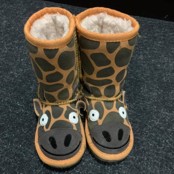Emu Australia Giraffe Toddler Winter Boots